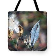 Milkweed Breaking Free Tote Bag