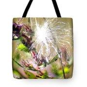 Milkweed Cotton  Tote Bag