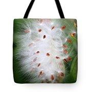 Milkweed Explosion Tote Bag