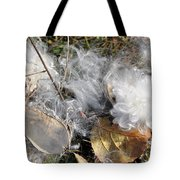 Milkweed Landing Tote Bag