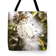Milkweed Seeds 3 Tote Bag