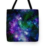Milky Way Abstract Tote Bag