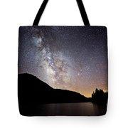 Milky Way At Highland Lakes Tote Bag