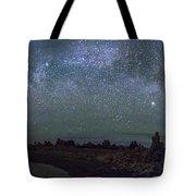 Milky Way At Mono Lake Tote Bag