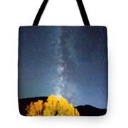Milky Way October Sky Tote Bag by James BO  Insogna