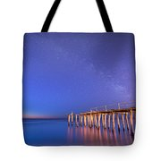 Milky Way Sunrise Tote Bag