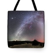 Milky Way, Zodiacal Light And Other Tote Bag