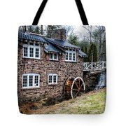 Mill Along The Delaware River In West Trenton Tote Bag
