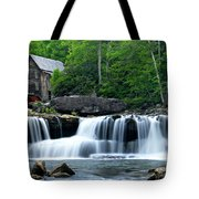 Mill And Waterfall Tote Bag