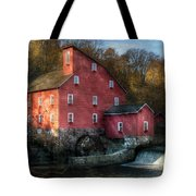 Mill - Clinton Nj - The Old Mill Tote Bag by Mike Savad