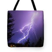 Mill Creek Lightning Tote Bag