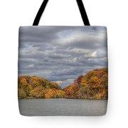 Mill Creek Park In Fall Tote Bag