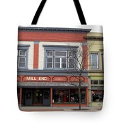 Mill End Store In Clare Michigan Tote Bag