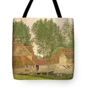 Mill On The Thames At Mapledurham, 1860 Tote Bag