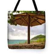 Mill Reef Beach Hut Tote Bag