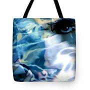 Milla Jovovich Portrait - Water Reflections Series Tote Bag