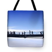 Millenium Bridge London Tote Bag