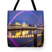 Millennium Bridge - Gateshead Tote Bag