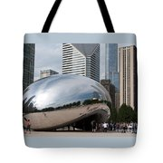 Millennium Park View Tote Bag