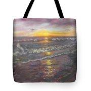 Miller Ocean Sunset Tote Bag