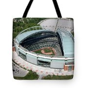 Miller Park Milwaukee Wisconsin Tote Bag