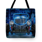 Millers Chop Shop 1946 Chevy Truck Tote Bag