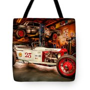 Millers Chop Shop Track T Toyota Tote Bag