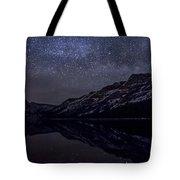 Millky Way Over Tenaya Lake Tote Bag