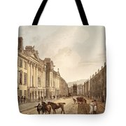 Milsom Street, From Bath Illustrated Tote Bag