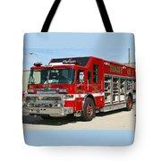 Milwaukee Fire Dept. Rescue 1  Tote Bag
