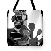 Milwaukee In Abstract Tote Bag