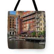 Milwaukee River Architecture 4 Tote Bag