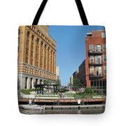 Milwaukee River Architecture 5 Tote Bag