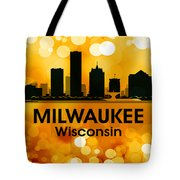 Milwaukee Wi 3 Tote Bag by Angelina Vick