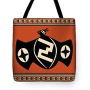 Mimbres Tribal Bat Spirit Tote Bag