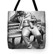 Mime At Work Tote Bag