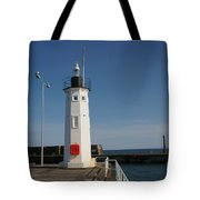Mimicking A Lighthouse Tote Bag