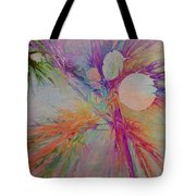 Mind Energy Aura Tote Bag by Deborah Benoit