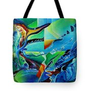 mindscape no.2-Improvisation Saxophone and Piano Tote Bag