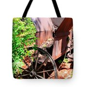 Mine Cart Lost In Time V2 Tote Bag