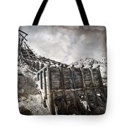 Mine Structure In Silver City Tote Bag