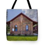 Mineral Bluff Station Tote Bag by Debra and Dave Vanderlaan