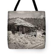 Miner's Shack - Comet Ghost Mine - Montana Tote Bag