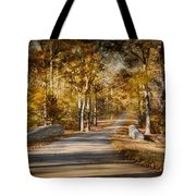 Mingling With Beauty Tote Bag