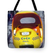 Mini-cab Tote Bag
