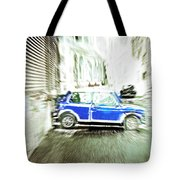 Mini Car Tote Bag by Tom Gowanlock