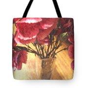 Mini Carnation Bouquet Tote Bag