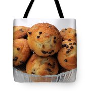 Mini Chocolate Chip Muffins And Milk - Bakery - Snack - Dairy - 2 Tote Bag