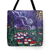 Mini Starry Night Tote Bag