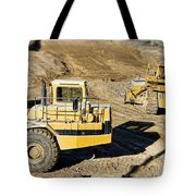 Miniature Construction Site Tote Bag